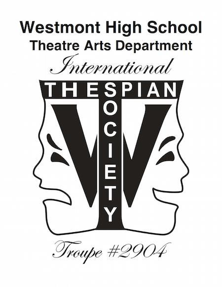 Theatre Masks used as a Department LOGO