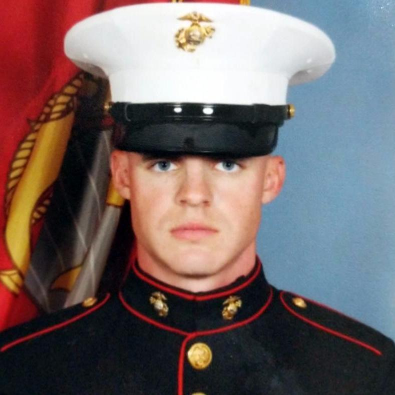 Lyle Radford's United States Marine Corps. picture.