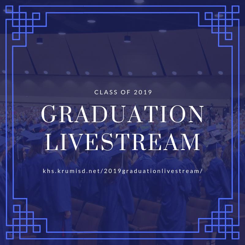 Class of 2019 Graduation LiveStream Thumbnail Image