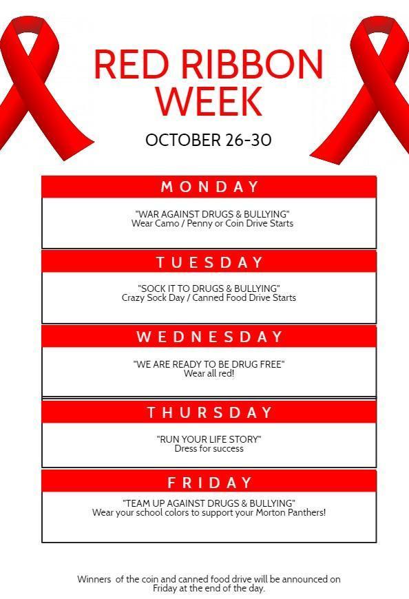Red Ribbon Week 2020
