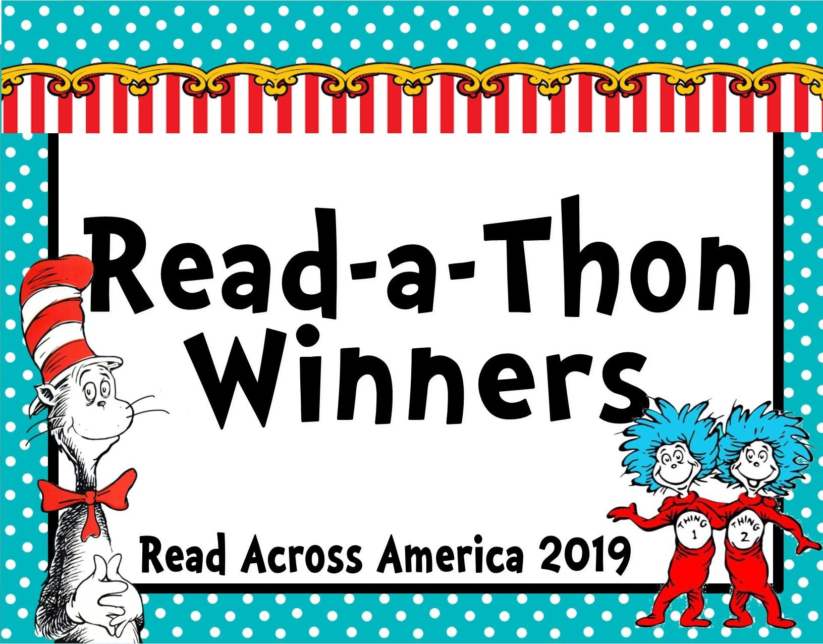 Image of Read-a-Thon winners logo