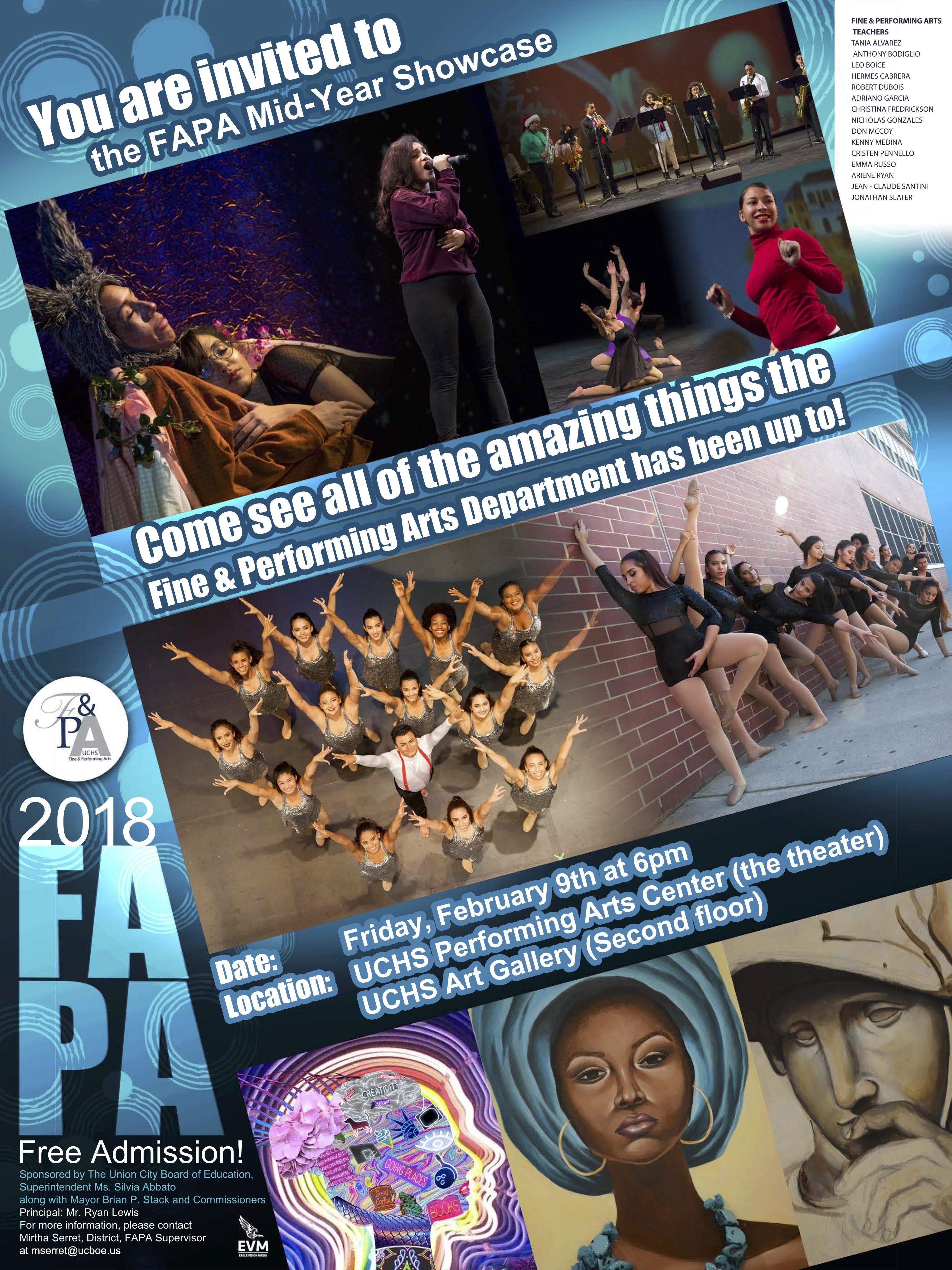 Fapa MidYear Showcase