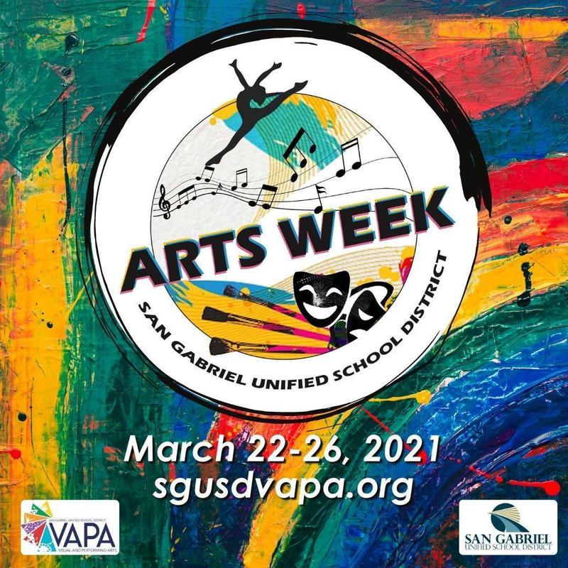 SGUSD Arts Week Featured Photo