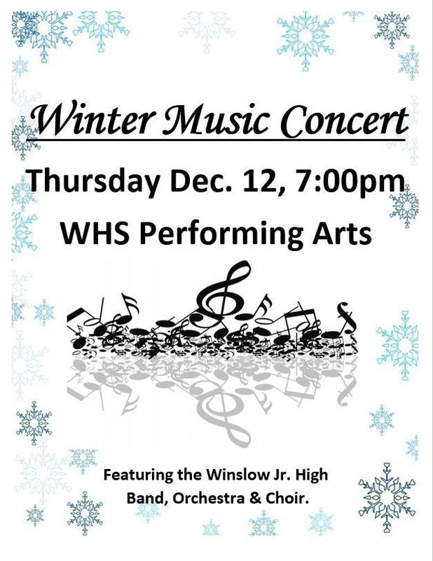 Winter Music Concert Featured Photo