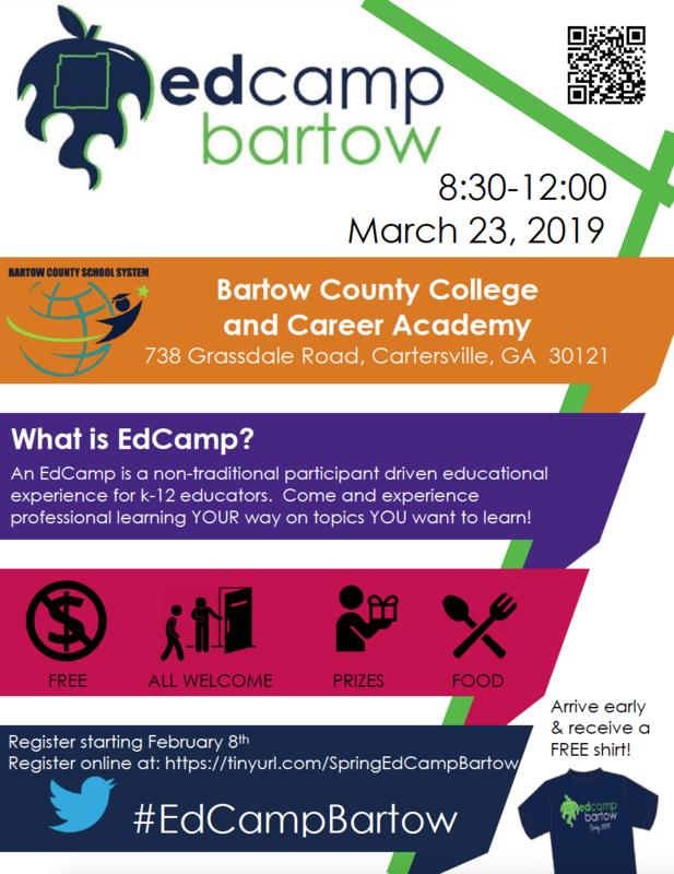 EdCamp Bartow spring registration now open