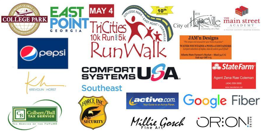 2019 Tri Cities Run Walk Sponsorship Banner