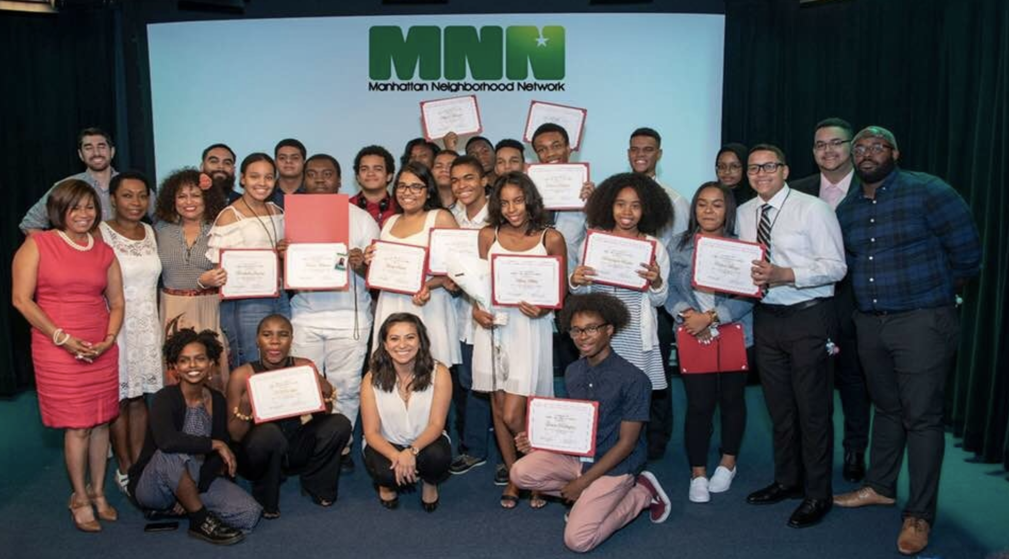 Congratulations to our young media makers who participated in Manhattan Neighborhood Network's Summer Youth Program Image