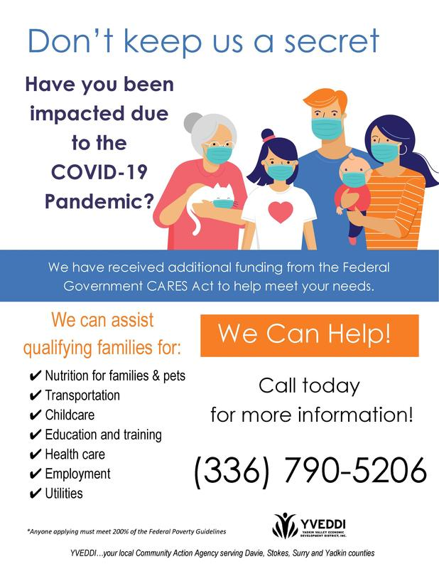 COVID CARES flyer