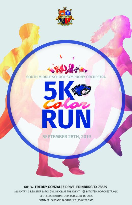 5K  Color Run @ SMS Saturday, September 28, 2019
