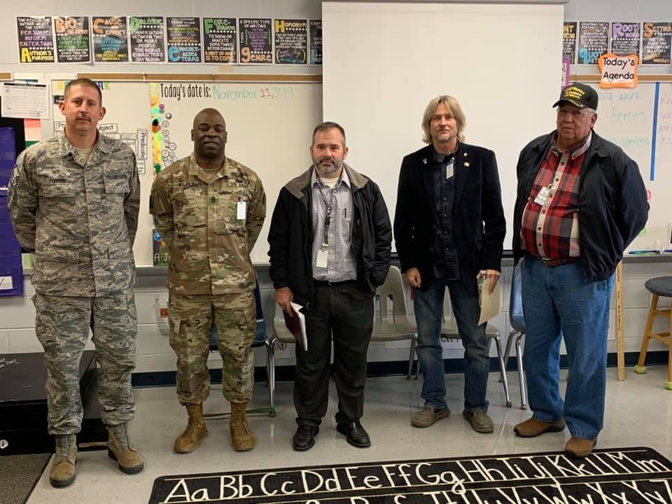 LES Veteran's Day Guest Speakers
