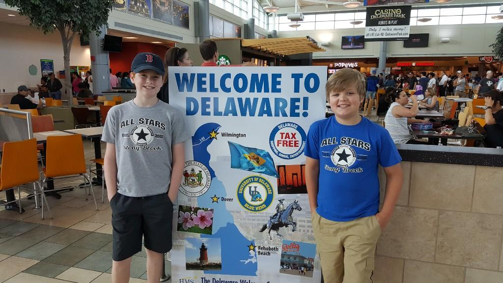 Ryan Szustakowski visiting Delaware