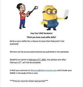Have Mad Selfie Skills? CMS Students?