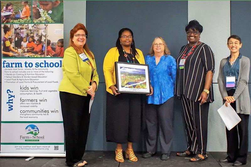 ECPS receives Farm to School of NC Award Featured Photo