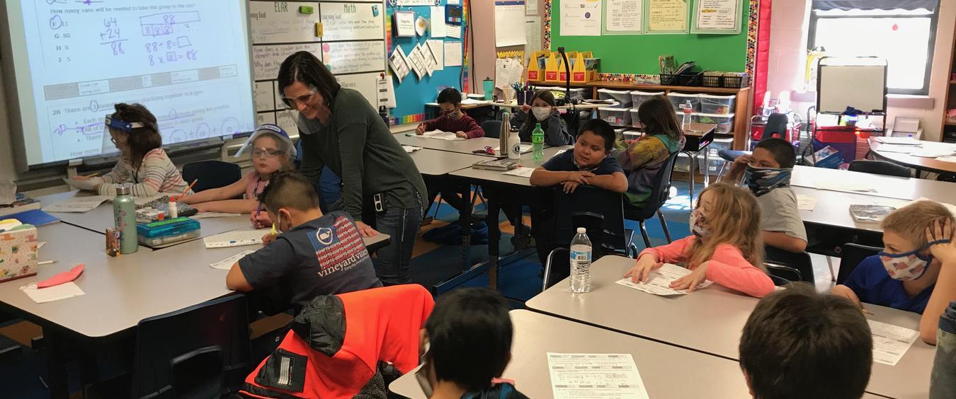 Mrs. Franke's classroom