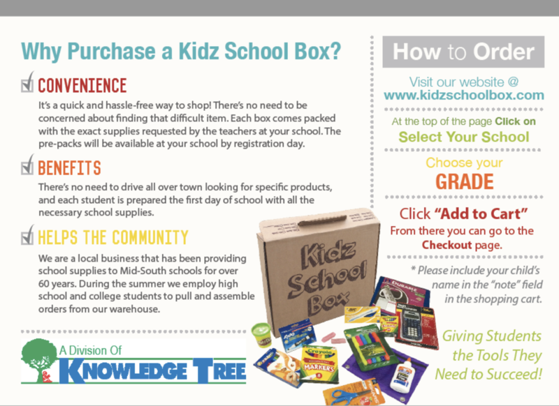 Click here to order your student's supply box for the 2020-21 school year! Featured Photo