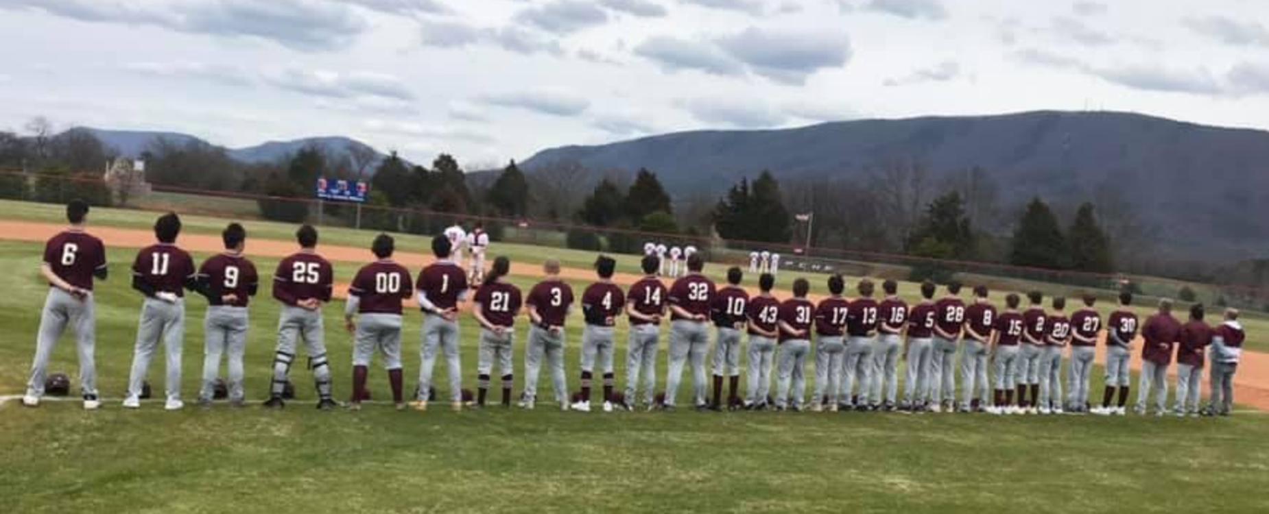 TPHS 2020 Baseball Team