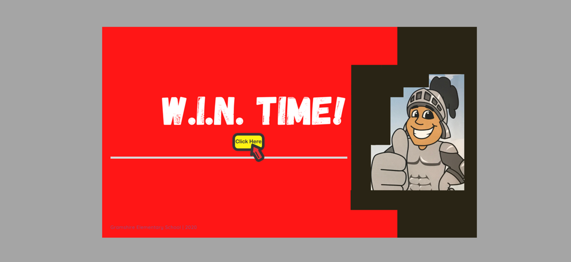 W.I.N. Time Graphic