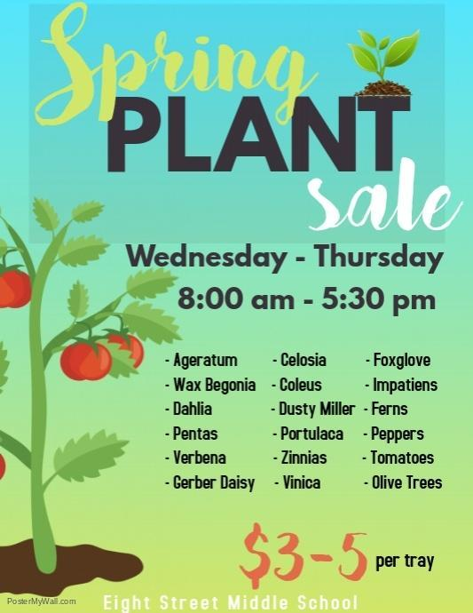 Eighth Street Middle FFA Plant Sale Featured Photo