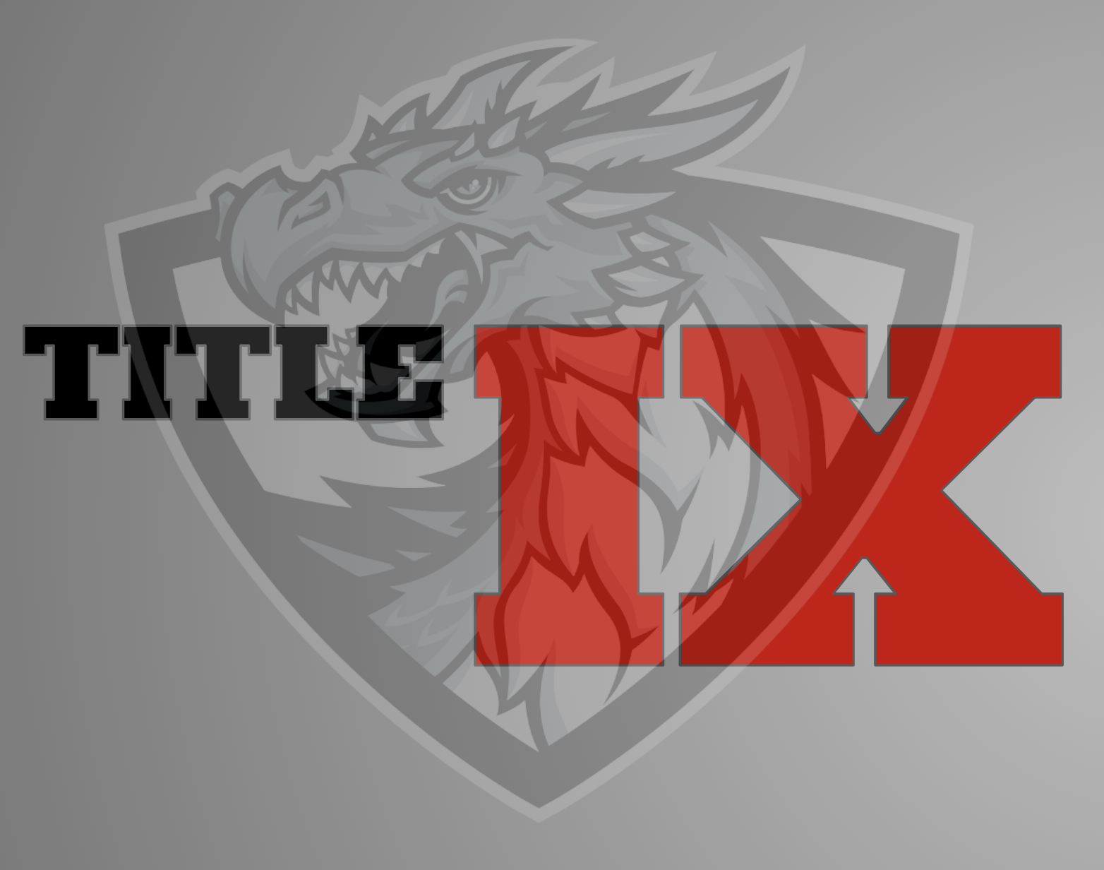 Title IX & District Dragon Logo