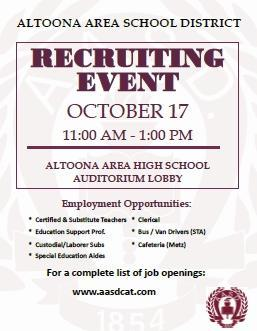 AASD Recruiting Event Thumbnail Image
