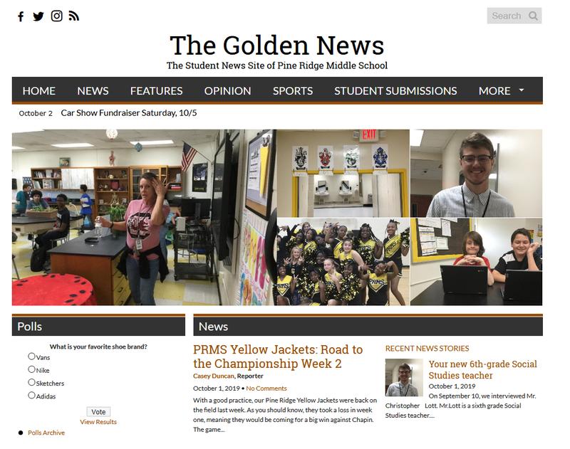 Golden News screenshot