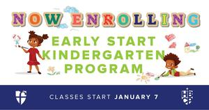 Early Start Kindergarten Program Flyer