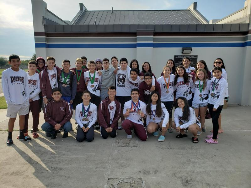 MHS Swim Team Competes Featured Photo