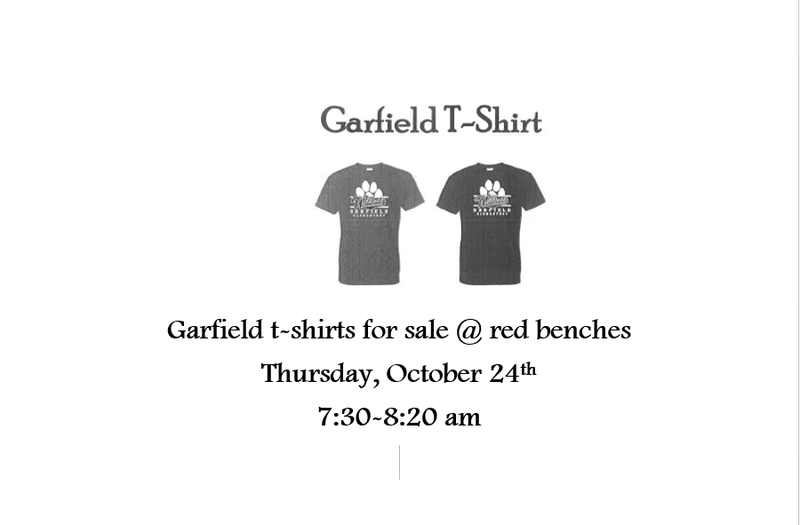 Garfield t-shirt sale Featured Photo