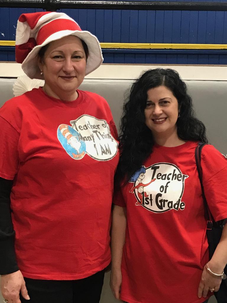 mrs. mendez and 1st grade teacher