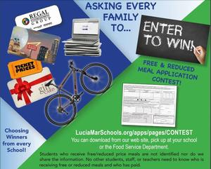 Free and reduced lunch contest