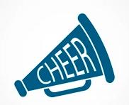 Blue cheer megaphone