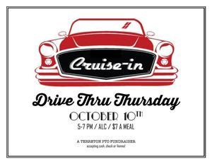 Drive Thru Dinner Information