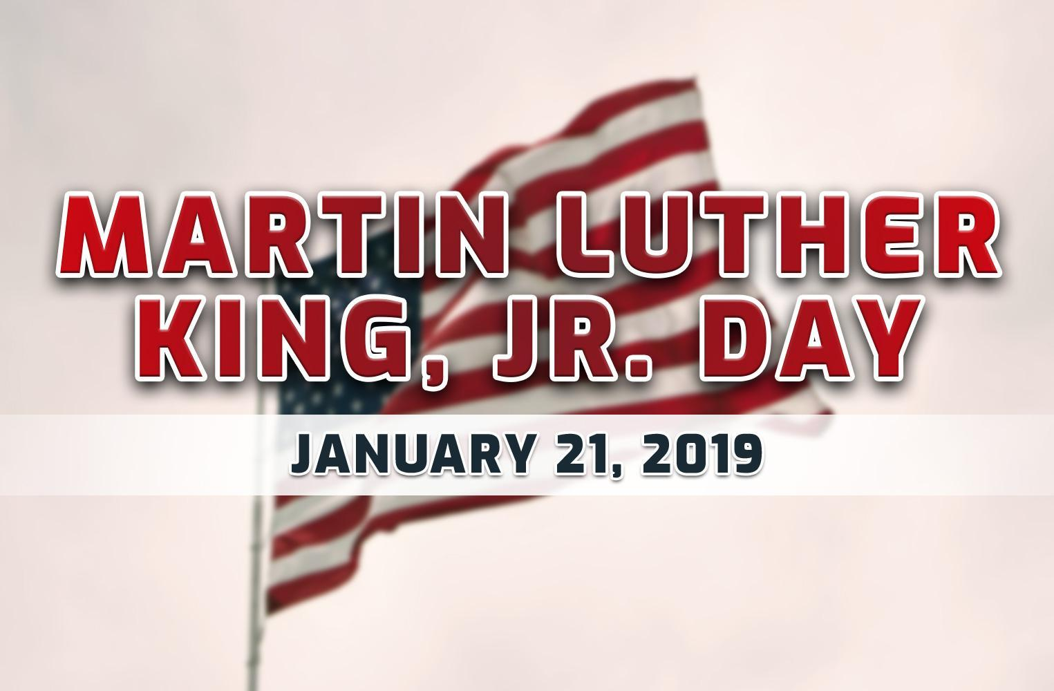 Image result for martin luther king jr day 2019