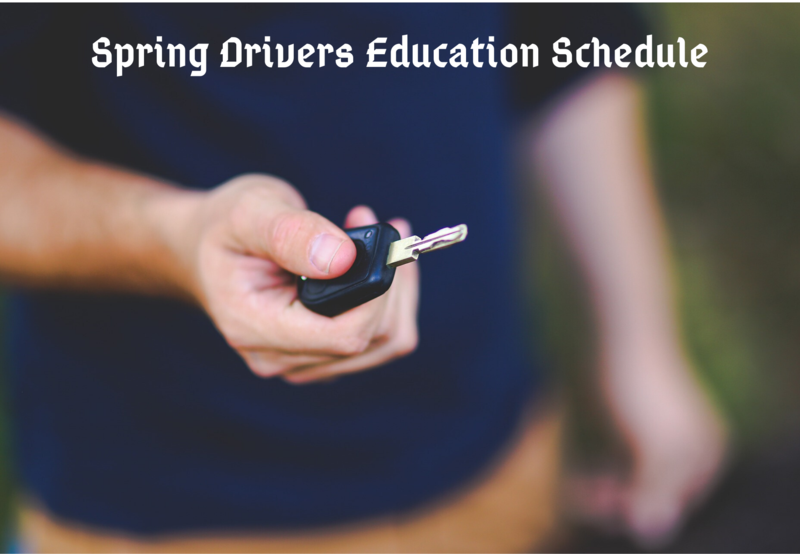 Spring Drivers Education Thumbnail Image