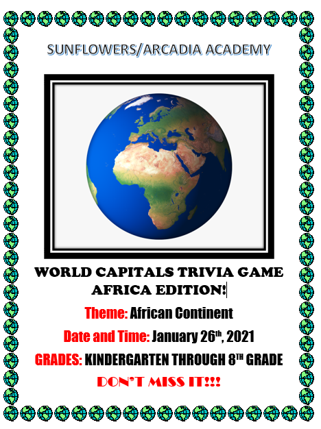 World Capitals Trivia Game: Africa Edition!!! Featured Photo