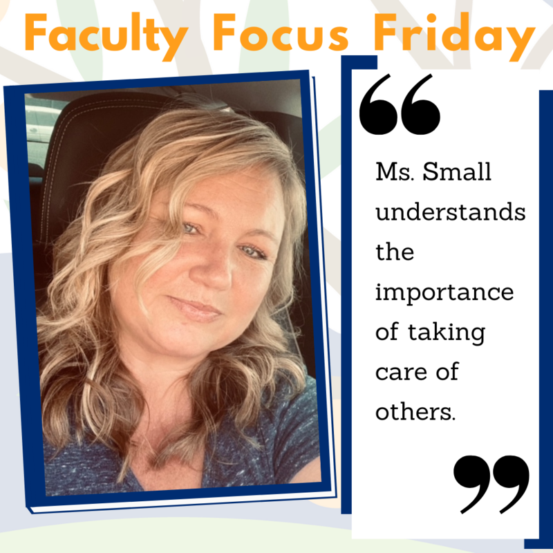 Picture of Deborah Smalls for Faculty Focus Friday