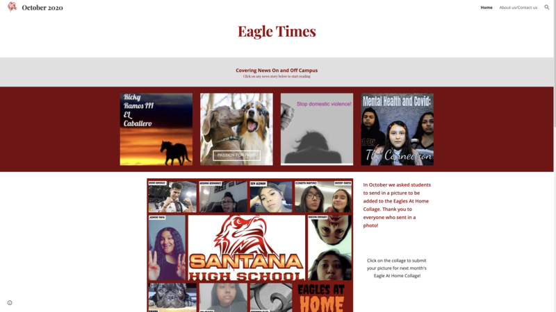 Eagle Times October Edition Featured Photo
