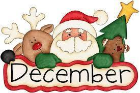 December Activities Calendar Featured Photo