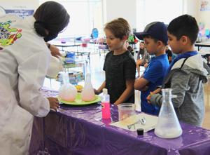 Summer SACC at ISES with Mad Science