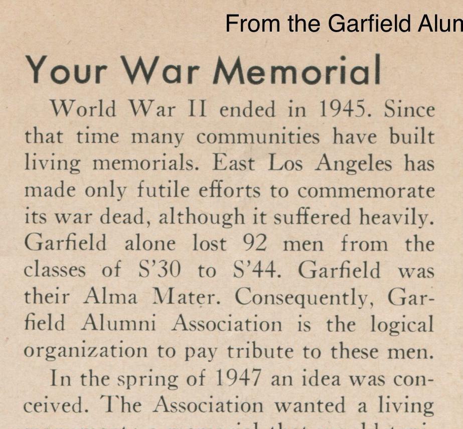 Your War Memorial