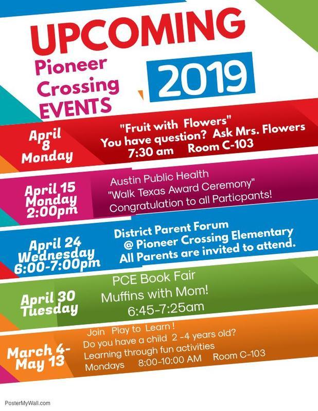 April Events! Thumbnail Image