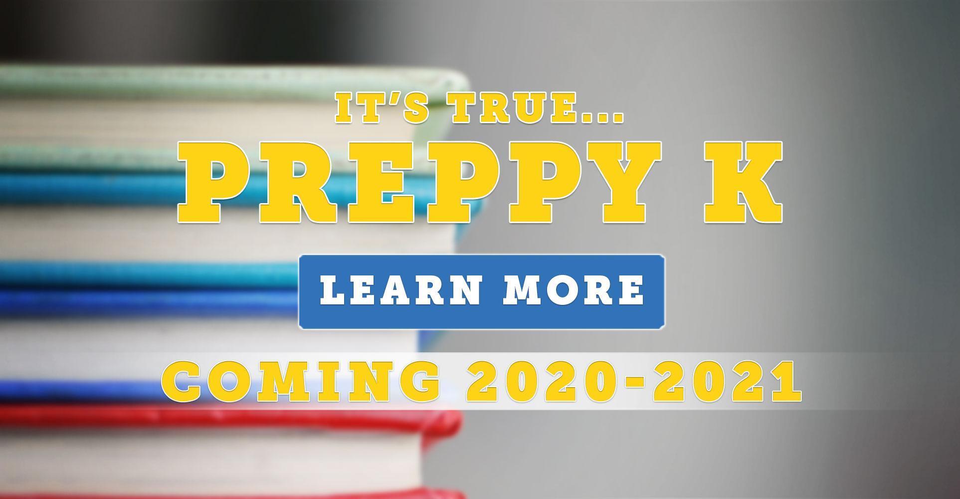 Preppy K Announcement