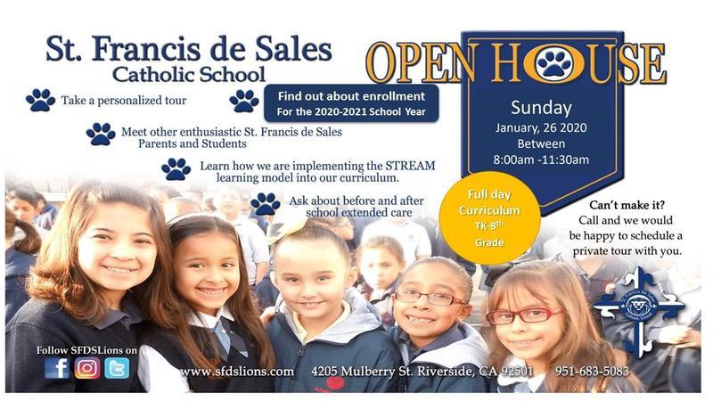 St. Francis de Sales Catholic School Open House Featured Photo