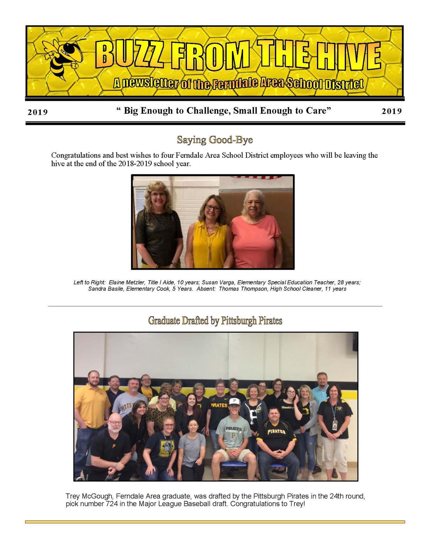 FASD Newsletter Summer 2019