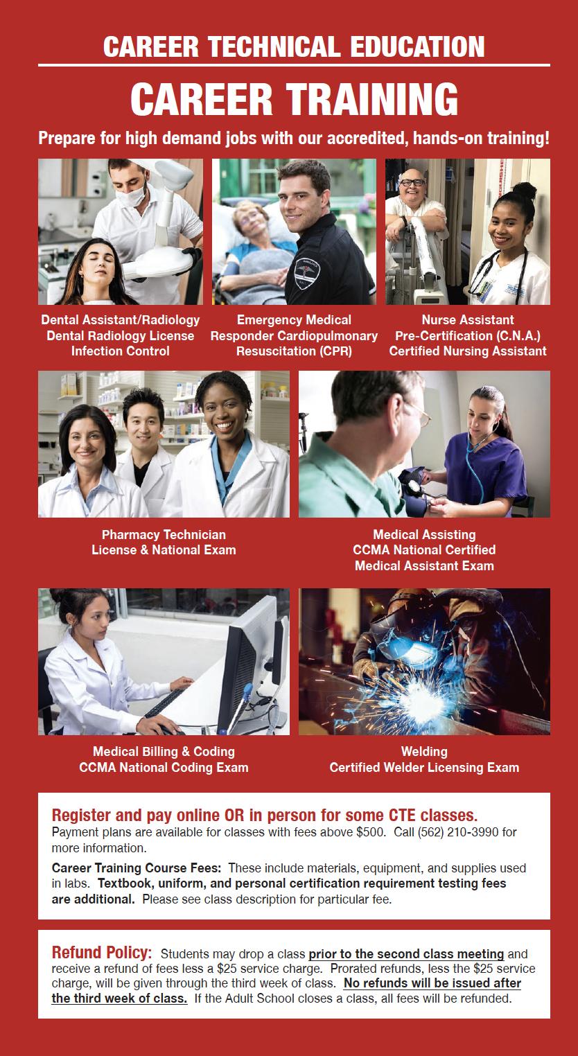 Career Training – Career Technology – Norwalk-La Mirada
