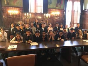 Ms. Diaz's students