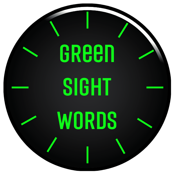 Green Sight Words