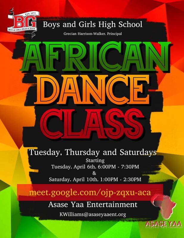 African Dance Class - Asase Yaa