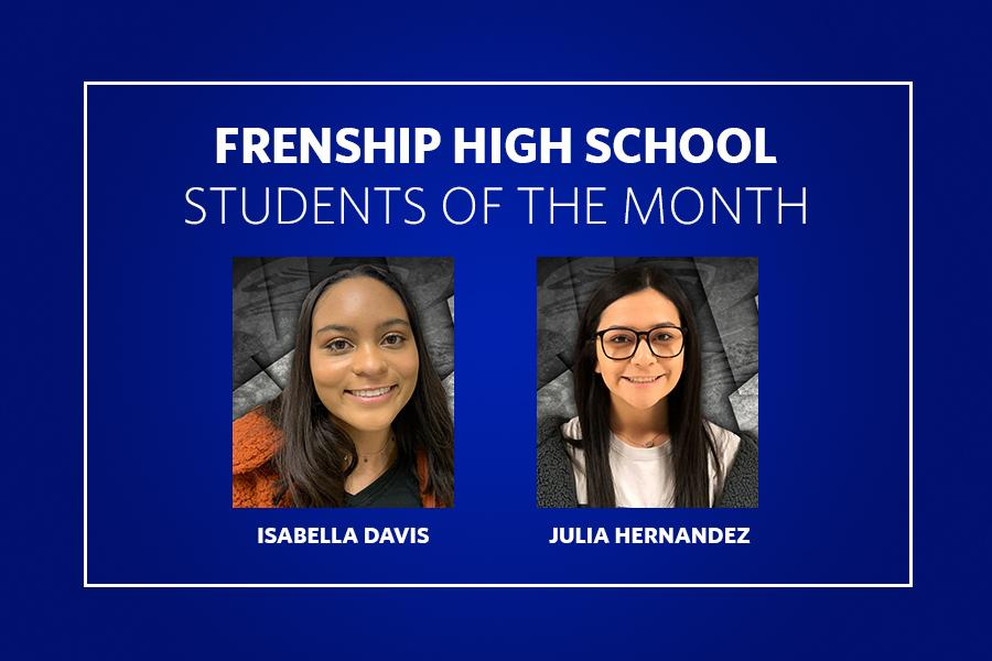 Eleventh Grade Students of the Month