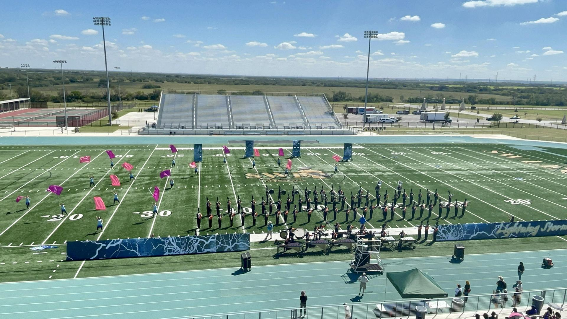 Panther Band @ the Southwest Marching Classic!